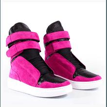 Tênis Bota Treino Sneaker Feminino Fitness Rosa Pi... - KLMASTERFITNESS
