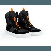 Tênis Bota Treino Sneaker Feminino Fitness Preto A... - KLMASTERFITNESS