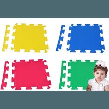 Kit 16 Placas Tatame Eva 50x50x1cm Tapete Infantil... - KLMASTERFITNESS