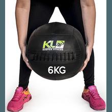 Wall Ball Couro Crossfit Funcional Medicine Ball 6... - KLMASTERFITNESS