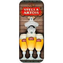 Abridor de Garrafa de Parede Stella Artois - SUPREMO CHURRASCO A MAIS COMPLETA LOJA DE ACESSÓRIOS DE CHURRASCO