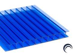 Chapa de Policarbonato Alveolar Azul 1,05x6,00 4 Milímetros