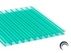Chapa de Policarbonato Alveolar Verde 1,05x6,00 4 Milímetros