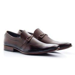 Sapato Masculino Marrom - BI353M - Pé Relax Sapatos Confortáveis