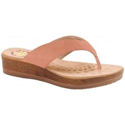 Chinelo Anatômico Feminino - Pele - MA537008PL - Pé Relax Sapatos Confortáveis