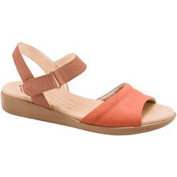 Sandália Anatômica Confort - Pele - MA14018PL - Pé Relax Sapatos Confortáveis