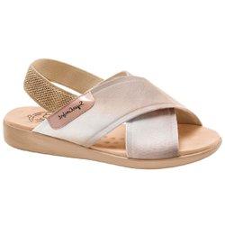Sandália para Senhoras - Bistro - MA14031PBI - Pé Relax Sapatos Confortáveis