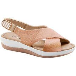 Sandália Ortopédica - Bege - MA832002BE - Pé Relax Sapatos Confortáveis