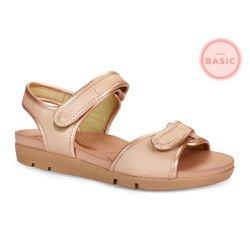 Sandália Feminina com Regulagem em Velcro - CAL5922 - Pé Relax Sapatos Confortáveis