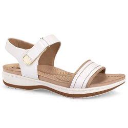 Sandália Anatômica - Snow - CAL6913SW - Pé Relax Sapatos Confortáveis