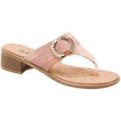 Tamanco Salto Baixo - Pele - MA818012PL - Pé Relax Sapatos Confortáveis