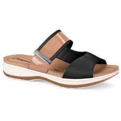 Tamanco Anatômico - Mousson Preto - CAL6911PM - Pé Relax Sapatos Confortáveis