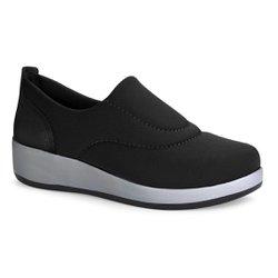 Tênis para Joanete Casual Feminino - Preto - CAL6711PT - Pé Relax Sapatos Confortáveis
