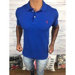 Polo Ralph Lauren Azul Bic com cavalo Vermelho - P.. abda24161c6e0