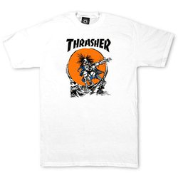CAMISETA THRASHER OUTLAW WHITE - 2119 3e3f0b7304a