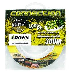 LINHA MULTIFILAMENTO CROWN CONNECTION 9X c/ 300m