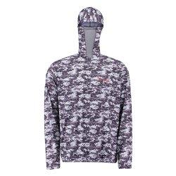 Camiseta Fishing Co. Ninja Camuflado Exercito