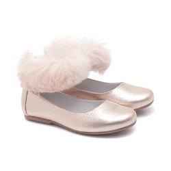 2749823df0 Sapato Tornozeleira de Pelo Feminino Infantil Gats