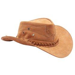Chapéu Masculino e Feminino em Couro CowBoy Rodeio 18ec05c9bbd