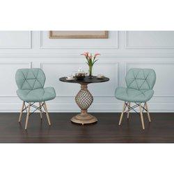 Cadeira Notável Slim Eiffel Verde