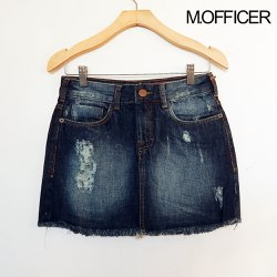 Saia Curta Jeans M. Officer
