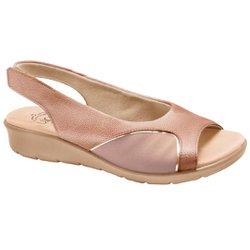 Sandália para Joanete - Ouro Velho - MA10073OV - Pé Relax Sapatos Confortáveis