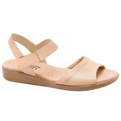 Sandália Feminina Anatômica - Bege - MA14018BG - Pé Relax Sapatos Confortáveis