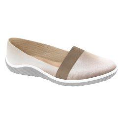 Sapatilha Confortável Feminina - Rosado - MA421027R - Pé Relax Sapatos Confortáveis