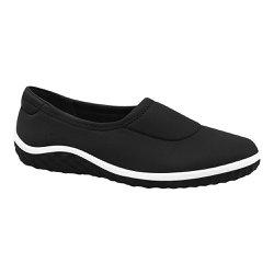 Sapatilha Confortável Feminina - Preta - MA421033P - Pé Relax Sapatos Confortáveis