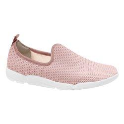 Tênis Feminino Confortável - Rosa - MA628008R - Pé Relax Sapatos Confortáveis
