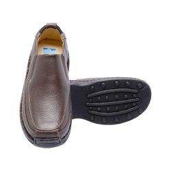 Sapato Marrom Masculino - FB16030M - Pé Relax Sapatos Confortáveis