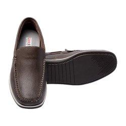 baceccb030 Mocassim Masculino Conforto - Marrom - FB30000M - Pé Relax Sapatos  Confortáveis
