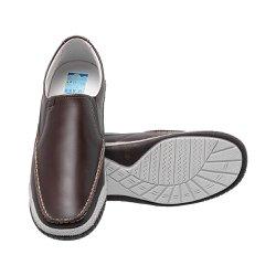 Mocassim Masculino Confort - Marrom - FB6000M - Pé Relax Sapatos Confortáveis