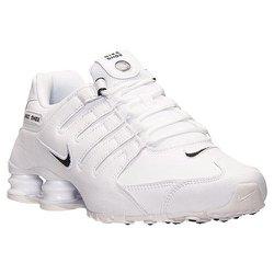 reputable site 3eec3 4791c Tênis Nike Shox Nz Eu Branco Masculino - 0063
