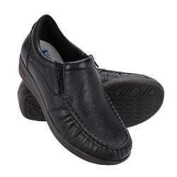 Sapato Feminino Fechado - Preto - FB8001P - Pé Relax Sapatos Confortáveis