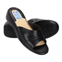 Tamanco Feminino Confortável - Preto - FB253P - Pé Relax Sapatos Confortáveis