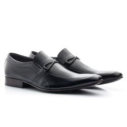 Sapato Masculino Preto - BI353P - Pé Relax Sapatos Confortáveis