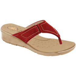 Chinelo para Esporão e Fascite - Mini Relax Scarlet - MA10007NVM - Pé Relax Sapatos Confortáveis