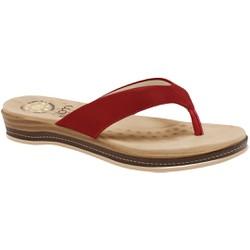 Chinelo para Esporão e Fascite - Scarlet - MA128157FS - Pé Relax Sapatos Confortáveis