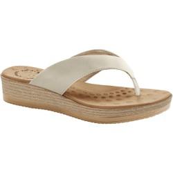 Chinelo Anatômico Feminino - Porcelana - MA537008PN - Pé Relax Sapatos Confortáveis