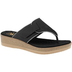 Chinelo Fascite e Esporão - Preto - MA537037 - Pé Relax Sapatos Confortáveis