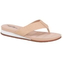 Chinelo Esporão e Fascite - Bege - MO7113BG - Pé Relax Sapatos Confortáveis