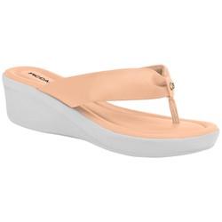 Chinelo Feminino Esporão e Fascite - Rose - PI565009RO - Pé Relax Sapatos Confortáveis