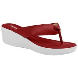 Chinelo Feminino Esporão e Fascite - Rubi - PI565009RB - Pé Relax Sapatos Confortáveis