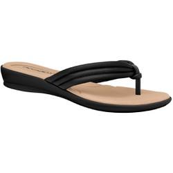 Chinelo para Esporão e Fascite - Preto - PI500220PT - Pé Relax Sapatos Confortáveis
