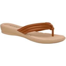 Chinelo para Esporão e Fascite - Ocre - PI500220OCR - Pé Relax Sapatos Confortáveis