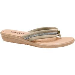 Chinelo para Esporão - Pu Champagne - MA200110CH - Pé Relax Sapatos Confortáveis