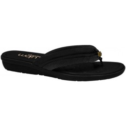 Chinelo para Esporão - Preto - MA200110PT - Pé Relax Sapatos Confortáveis