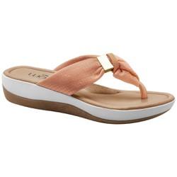 Chinelo Anatômico Feminino - Lycra Choco - MA832004PL - Pé Relax Sapatos Confortáveis