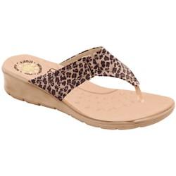 Chinelo Confort Feminino - Oncinha - MA10007NAZ - Pé Relax Sapatos Confortáveis
